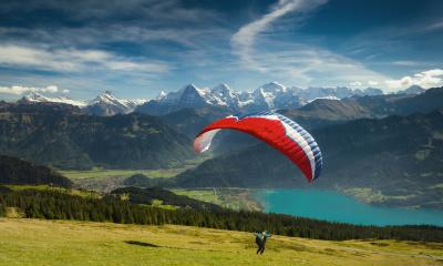 Paragliding Niederhorn