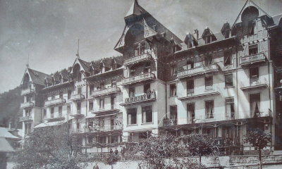 Das frühere Hotel Victoria