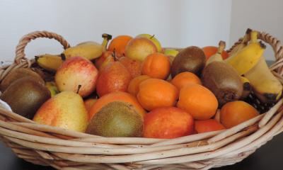 Bunter Früchtekorb